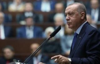 Cumhurbaşkanı Erdoğan: Teröristler güvenli bölgeden...