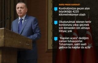 Cumhurbaşkanı Erdoğan: Yedi düvele karşı dimdik...