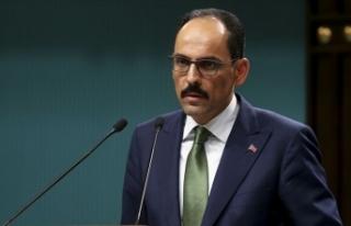 Cumhurbaşkanlığı Sözcüsü Kalın: Suriye'deki...