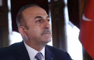 Dışişleri Bakanı Çavuşoğlu: Barış Pınarı...