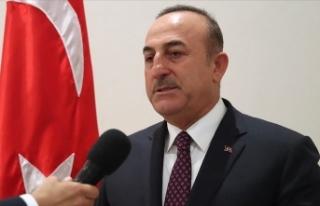 Dışişleri Bakanı Çavuşoğlu: Terörist Mazlum...