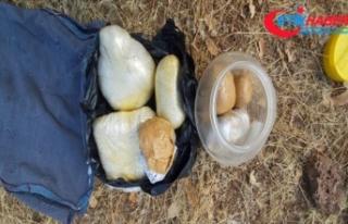 Diyarbakır'da terör örgütü PKK'ya 'uyuşturucu'...
