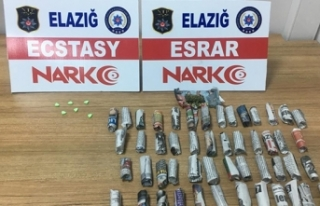 Elazığ'da uyuşturucu alışverişine polis...