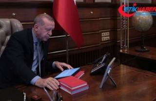 Erdoğan'dan parti liderlerine harekat bilgilendirmesi