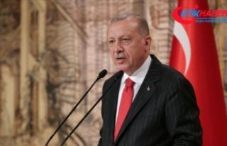 Erdoğan: Şu anda henüz terör örgütleri çıkmış...
