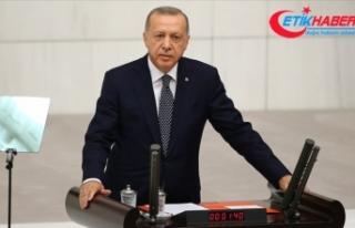 Erdoğan: Terörle arasına mesafe koyan kesimleri...
