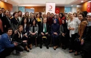 Erdoğan'dan kan bağışçılarına ziyaret