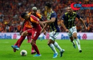 Galatasaray -Fenerbahçe derbisi yeni bir rekora imza...