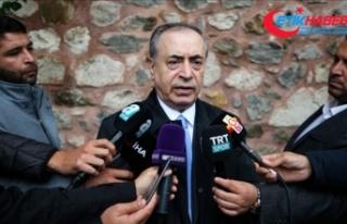 Galatasaray Kulübü Başkanı Cengiz: Fatih Terim...