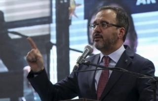 Gençlik ve Spor Bakanı Kasapoğlu: Bize demokrasi...