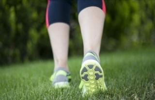 Her gün 30 dakika tempolu yürüyüş sağlığı...