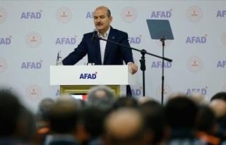 İçişleri Bakanı Süleyman Soylu: Bir afet durumunda...