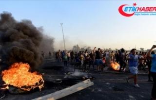 Irak'taki gösterilerde ölenlerin sayısı 42'ye...