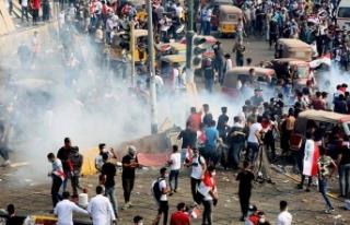 Kerbela'daki gösterilerde 18 kişi öldü, 800'den...