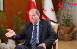 """KKTC Başbakanı Tatar: """"Türkiye'den gelen..."""