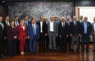 KKTC belediye başkanlarından Barış Pınarı Harekatı'na...
