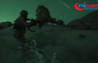 Komandolar Fırat'ın doğusunda ilerliyor