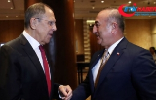 Lavrov ve Çavuşoğlu Suriye'nin kuzeydoğusunu...