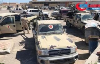 Libya'daki UMH güçleri Aziziye'de kontrolü...