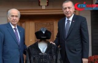 MHP Lideri Devlet Bahçeli, Cumhurbaşkanı Erdoğan'a...