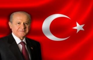 MHP Lideri Bahçeli'den Cumhuriyet Bayramı mesajı