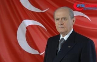 """MHP Lideri Bahçeli'den """"10 Kasım""""..."""