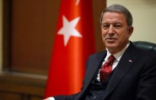 Milli Savunma Bakanı Akar: Mehmetçik'in morali...