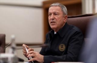 Milli Savunma Bakanı Akar: TSK'nın envanterinde...