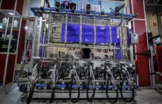 'Mobil süt sağma makinesi üretiminde dünya...