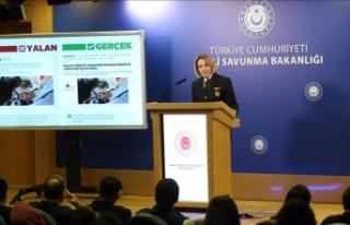 MSB: Barış Pınarı Harekatı'nda kimyasal...