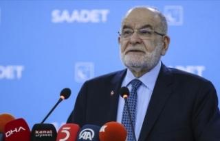 Saadet Partisi Genel Başkanı Karamollaoğlu: Hükümetin...