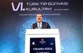 Sağlık Bakanı Koca: Türkiye Genom Projesi resmen...