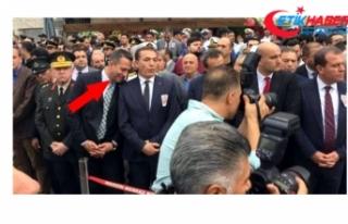 Şehit cenazesinde gülen CHP Mersin Milletvekili...