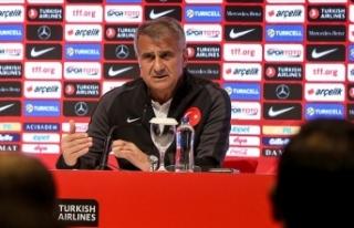 Şenol Güneş: Dört maçın en önemlisi Arnavutluk...