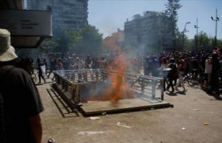 Şili'deki protestolarda 19 kişi öldü
