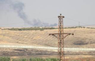 Süleyman Şah Türbesi çevresindeki YPG/PKK hedefleri...