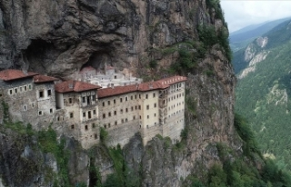 Sümela Manastırı'nı 4 ayda 220 bin kişi...