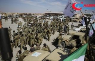 Suriye Milli Ordusu, Münbiç cephe hattına yığınak...