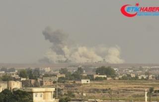 Tel Abyad'daki terör hedefleri ateş altına...