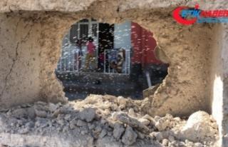 Terör örgütü YPG/PKK'nın saldırısında...