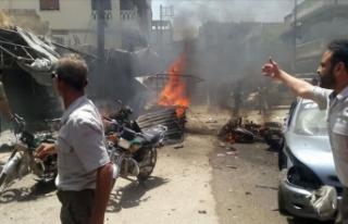 Terör örgütü YPG/PKK'nın düzenlediği saldırılarda...