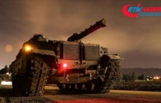 TSK Suriye'de barış ve istikrar için üçüncü...