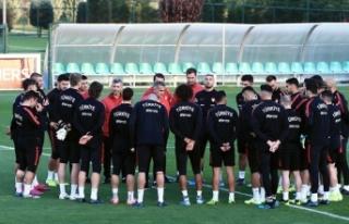 Türkiye-Arnavutluk maçında 11'ler belli oldu