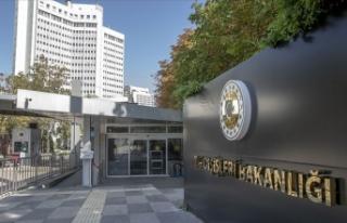 Türkiye'den ABD Temsilciler Meclisi'ne...