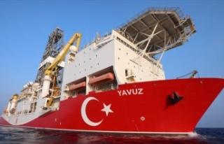 Yavuz gemisi 7 Ekim'de Akdeniz'de sondaja...
