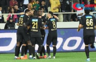 Yeni Malatyaspor'dan farklı galibiyet