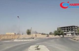 'YPG/PKK kampta yangın çıkartarak DEAŞ'lı...
