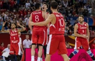 A Milli Erkek Basketbol Takımının olimpiyat elemelerindeki...