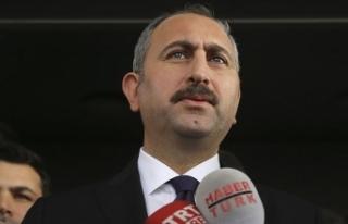 Adalet Bakanı Gül: Sonunda yargıya güven artacak