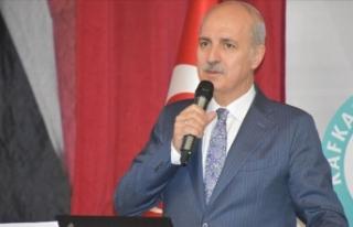 AK Parti Genel Başkanvekili Kurtulmuş: Bu coğrafyayı...